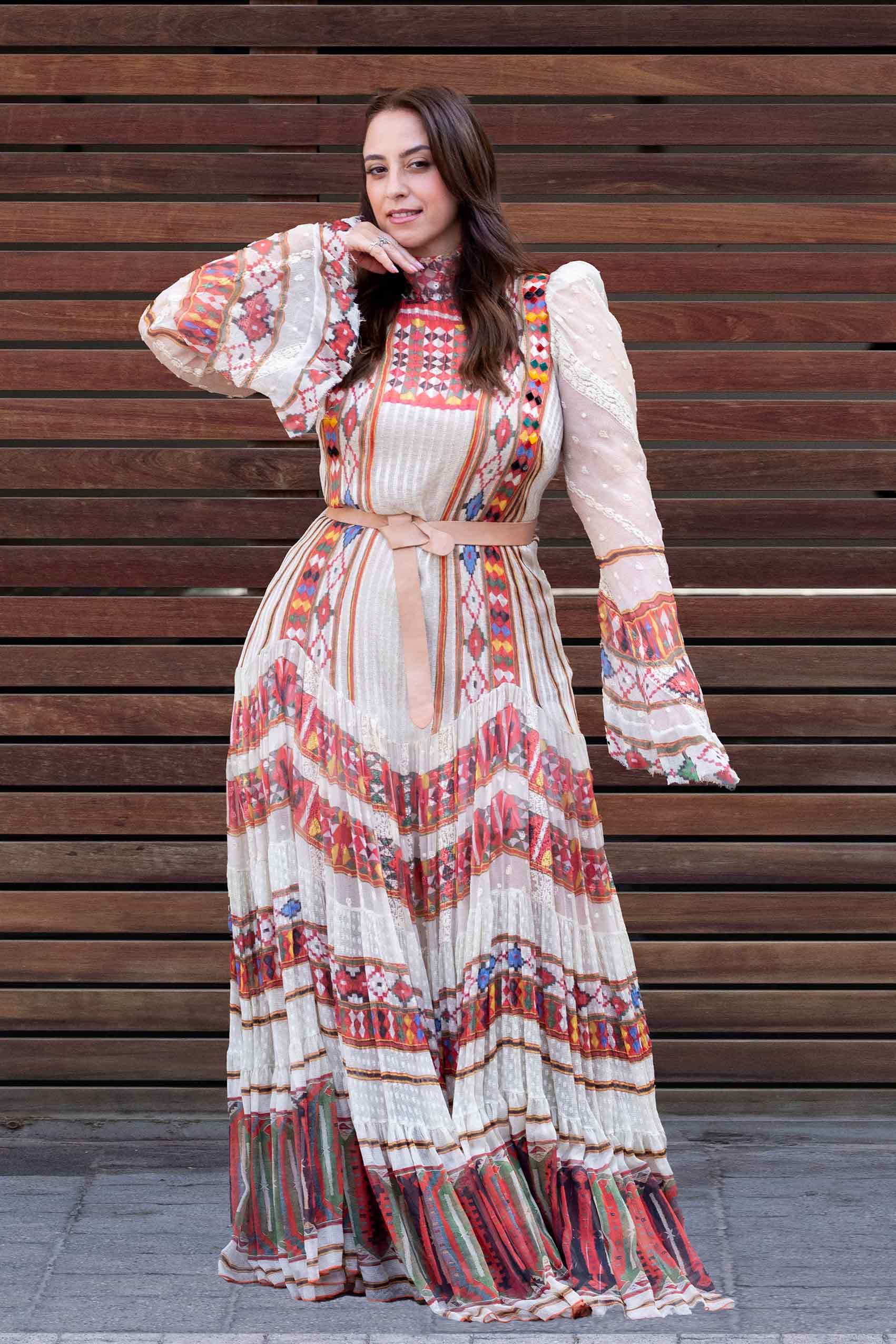 אופנה- טלי ארבל לובשת ויוי בלאיש, צילום: שלי פדן-לורבר-אופנה-ישראלית