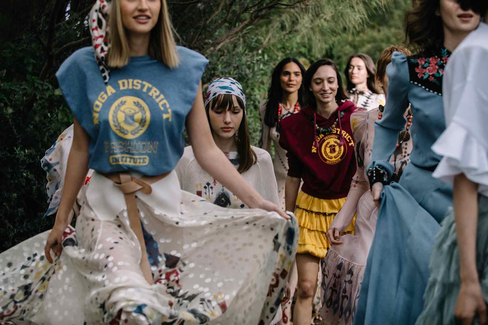 """אופנה-ויוי בלאיש, קולקציית Sign Of The Times בשבוע האופנה קורנית ת""""א. צילום: אורית פניני"""