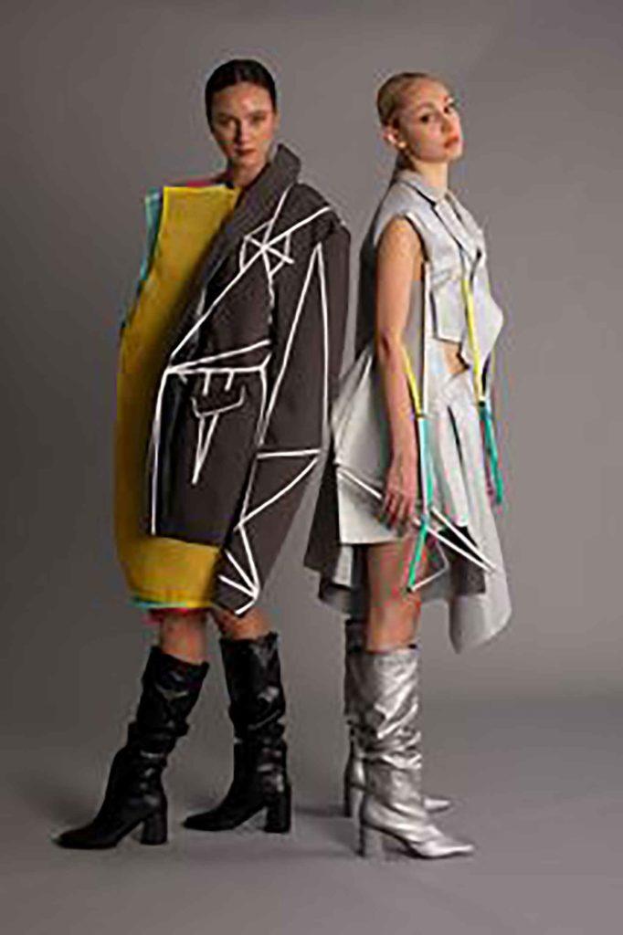 """כרמל גל-עד, """"Between 2D to 3D"""": בהשראת התקדמות עולם האופנה אל תוך העולם הדיגיטלי. צילום: צורי אדמוני-1"""