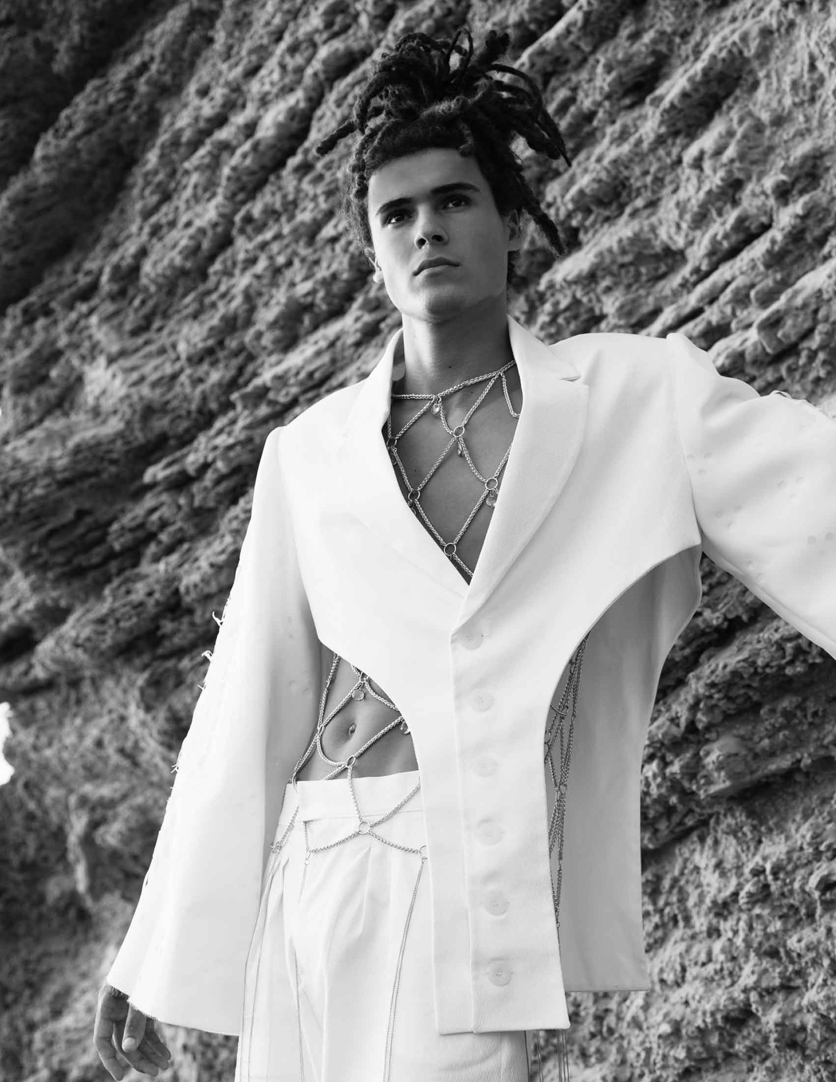 Photographer: Daniel Noy Dor, Fashion Designer: Nitzan Levy, Model: Segev Arish Assistant: Tomer Hershkovitz' Fashion: Nitzan for Shenkar-14