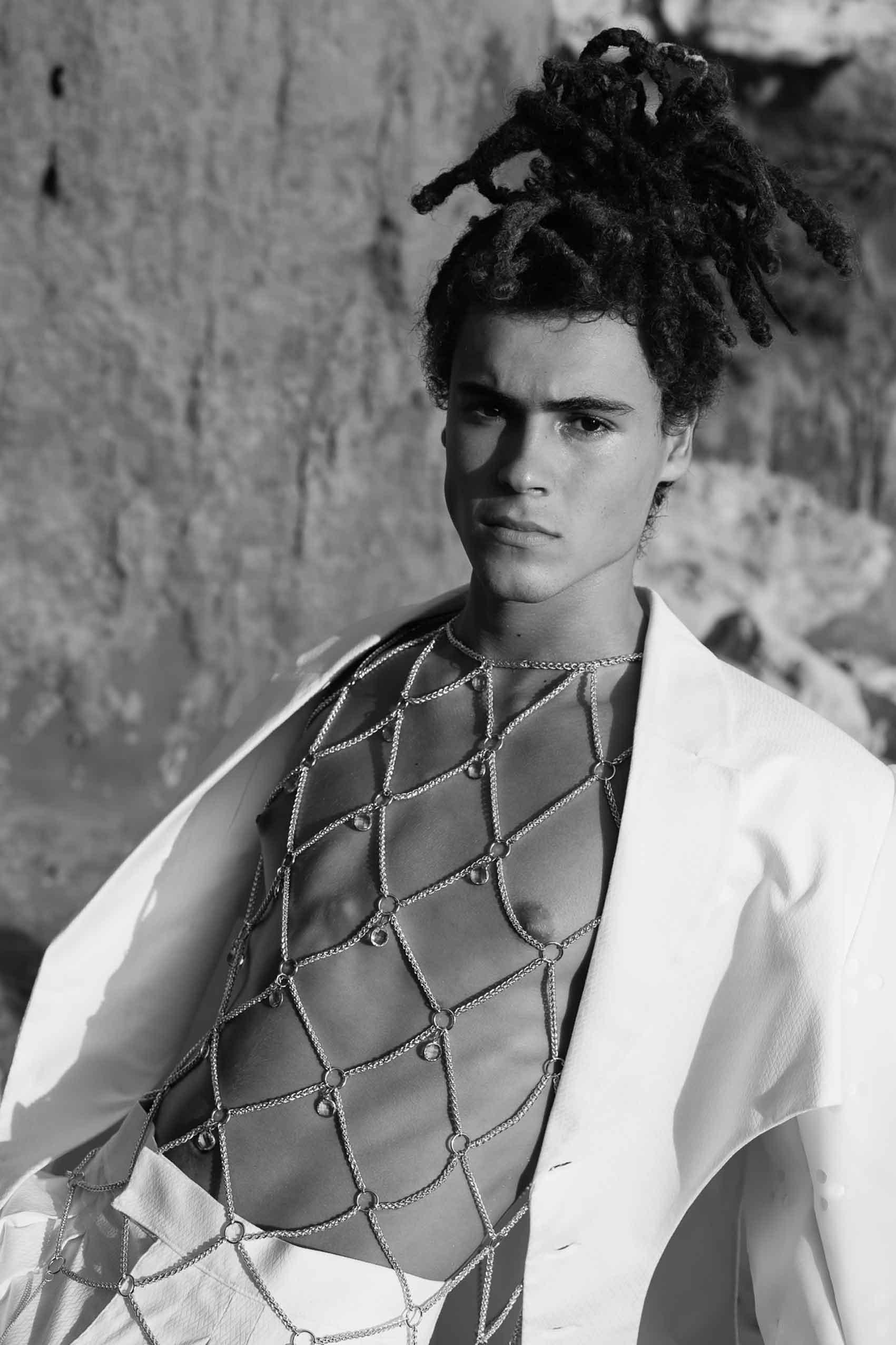 Photographer: Daniel Noy Dor, Fashion Designer: Nitzan Levy, Model: Segev Arish Assistant: Tomer Hershkovitz' Fashion: Nitzan for Shenkar-6