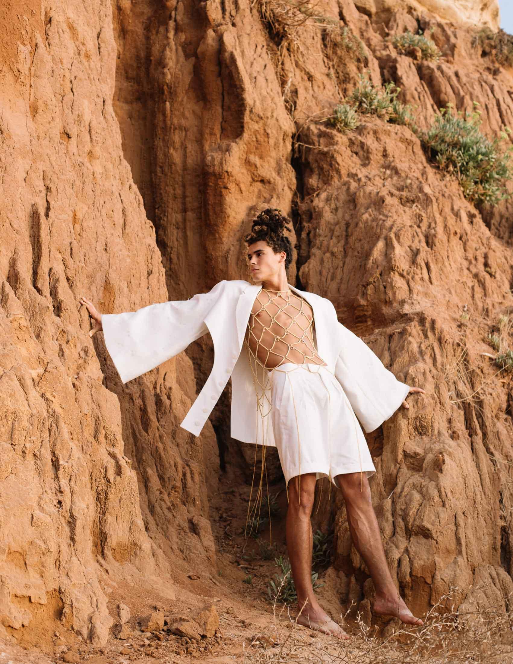 Photographer: Daniel Noy Dor, Fashion Designer: Nitzan Levy, Model: Segev Arish Assistant: Tomer Hershkovitz' Fashion: Nitzan for Shenkar-1